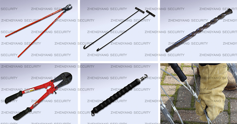Razor-Wire-installation-accessories